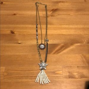 Layered necklace from Chloe and Isabel